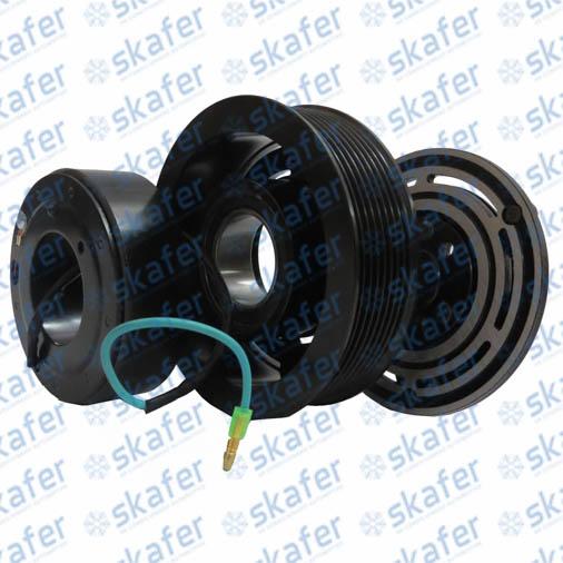 Kit Embreagem 7H15 24V 8PK 123mm Sanden