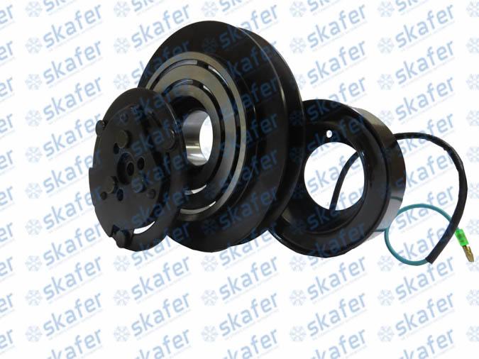 Kit Embreagem 7H15 Canal 1B 24V 146mm Colheitadeira Sanden