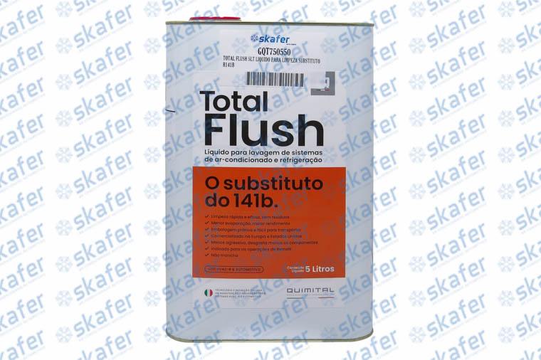 TOTAL FLUSH 5LT LIQUIDO PARA LIMPEZA SUBSTITUTO R141B