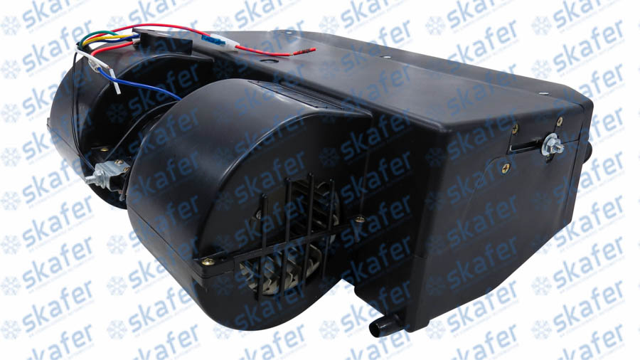 imagem de CAIXA EVAPORADORA UNIVERSAL VÁLVULA EXPANSAO CAPILAR 12V 4 DIFUSORES