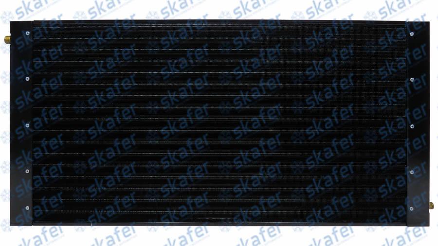 CONDENSADOR CATERPILLAR TRATOR ESTEIRA D7R D7R II D7XR D8R D8R II TUBO ALETAS COBRE 8N7486 SKAFER