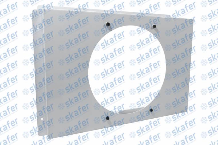 DEFLETOR UNIVERSAL PARA 1 VENTILADOR DE 11 650001 PARA MAQUINAS EM GERAL