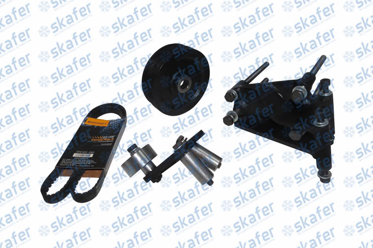 KIT SUPORTE FIAT DUCATO 2.8  BOXER 2.8 MASTER 2.8 SANDEN PK