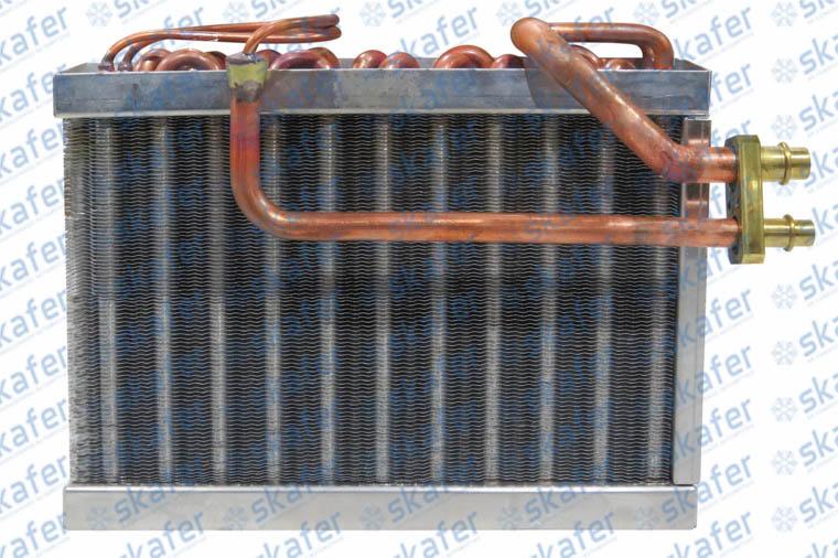 EVAPORADOR CATERPILLAR RETROESCAVADEIRA 416F2 COBRE SKAFER 1000428261, 434-1171