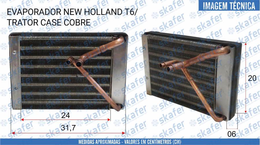 imagem de EVAPORADOR CNH NEW HOLLAND CASE TRATOR T6 84579699