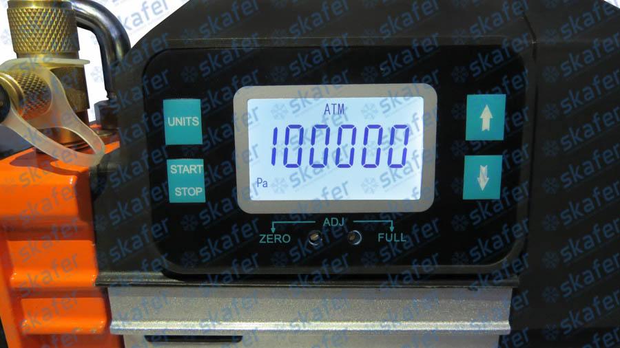 imagem de BOMBA DE VÁCUO 10CFM COM VACUÔMETRO DIGITAL SURYHA