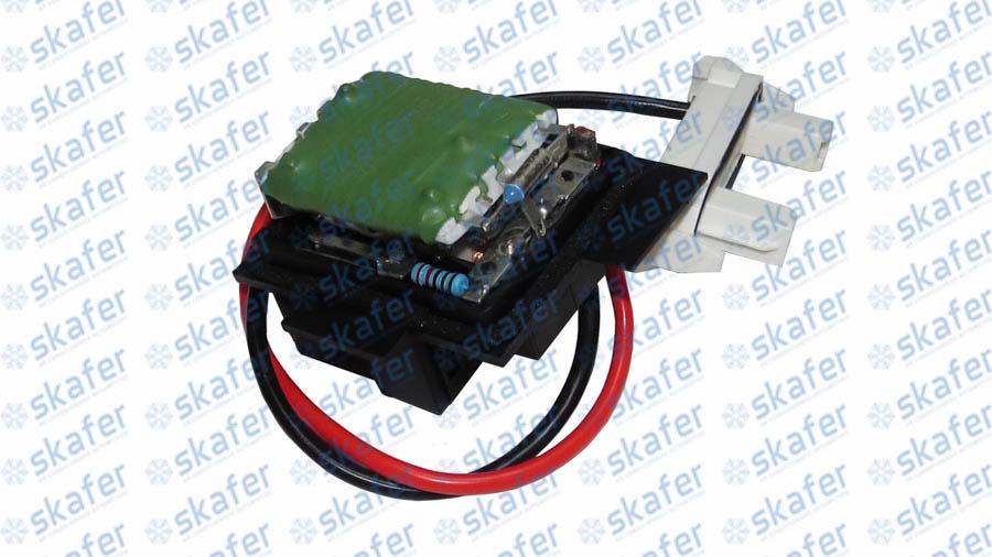 RESISTÊNCIA CAIXA RENAULT CLIO ATÉ 2010 7701206351