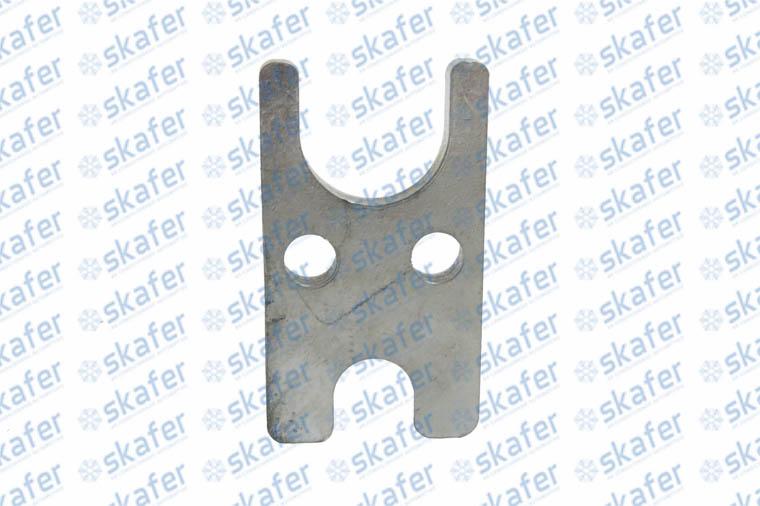 imagem de FIXADOR H 2 FUROS PARA FIXAÇÃO VÁLVULA BLOCK CONEXÃO 6MM 10MM