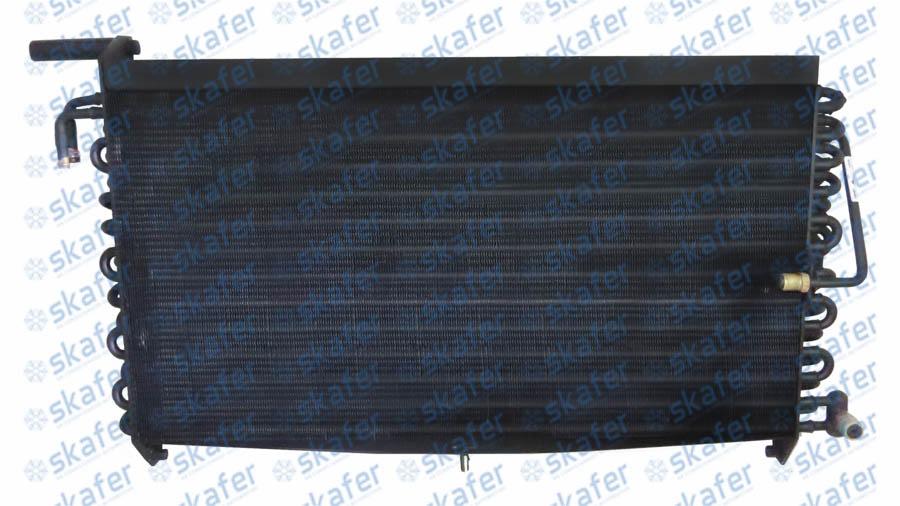 CONDENSADOR CASE TRATOR MAGNUM 180 250 335 MX T8 TG COM RADIADOR DE ÓLEO COBRE 8 ALETAS POR POLEGADA (APP) SKAFER