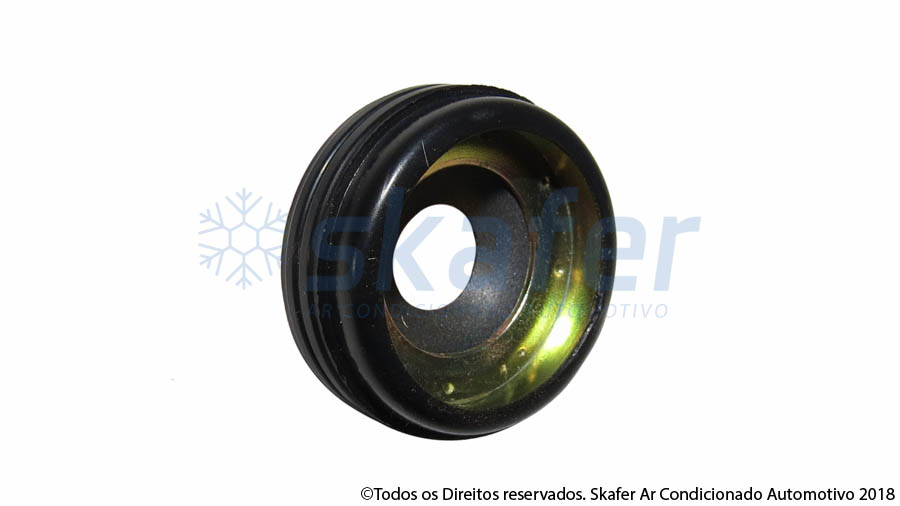 SELO COMPRESSOR DENSO VARIAVEL LIP SEAL R134A 27,50X9,8X10,4MM